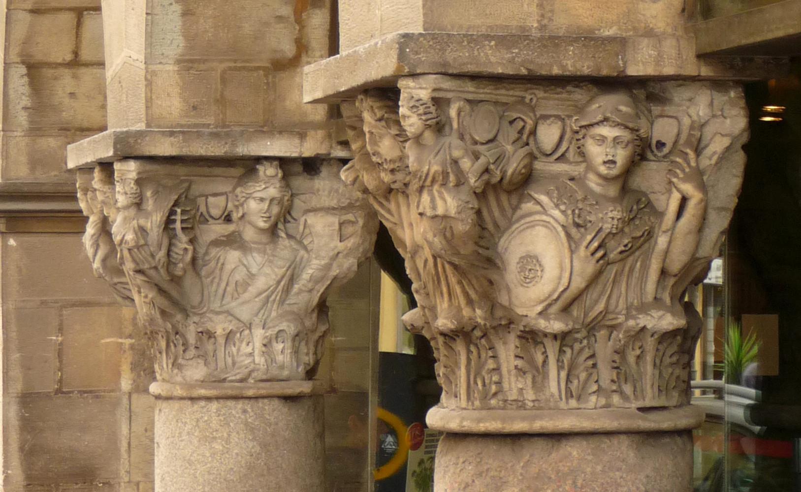 Capitelli - Ex chiesa SS. Felice e Regolo (F. Anichini)