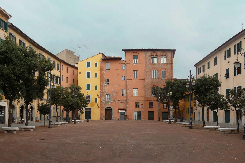Piazza Chiara Gambacorti (Lucarelli, wikimediacommons)