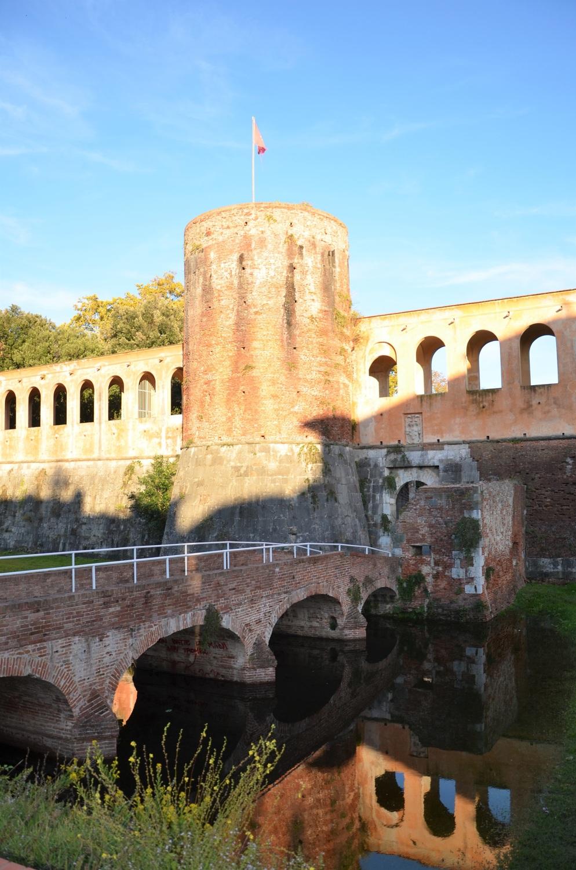 Bastione San Gallo e ponte seicentesco, cittadella nuova (L. Corevi, Comune di Pisa)