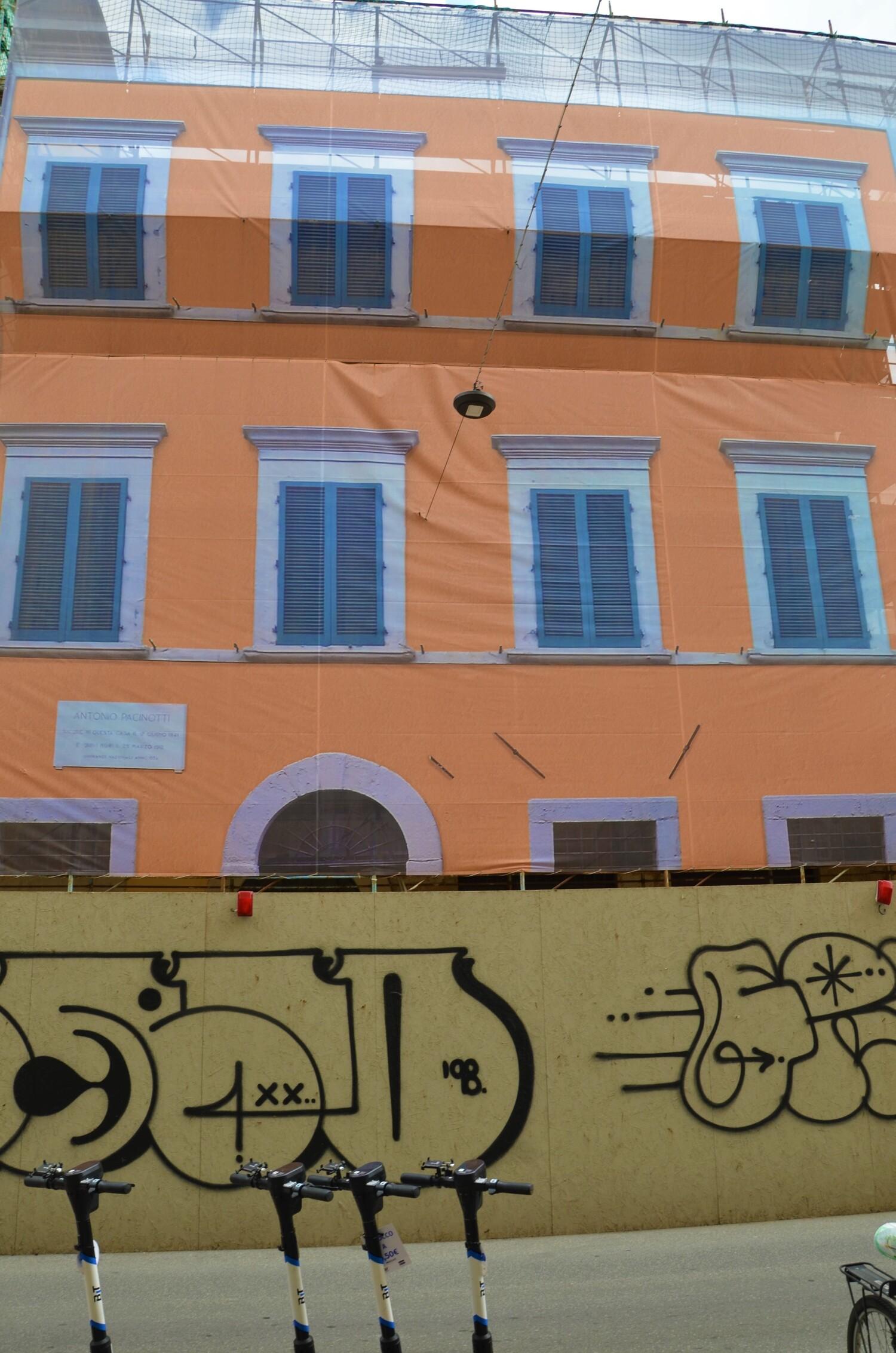 Casa natale A. Pacinotti (L. Corevi, Comune di Pisa)