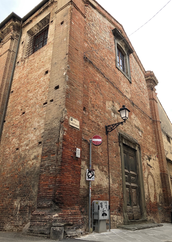Facciata Chiesa di S. Bernardo (G. Bettini, Comune di Pisa)