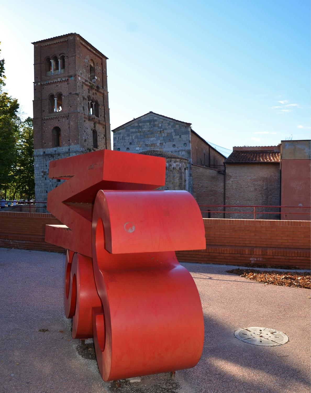 Chiesa di San Michele degli Scalzi da centro espositivo SMS (L. Corevi, Comune di Pisa)