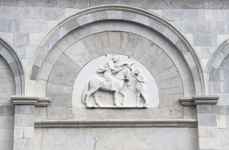 Particolare facciata - Chiesa di San Martino (G. Bettini, Comune di Pisa)