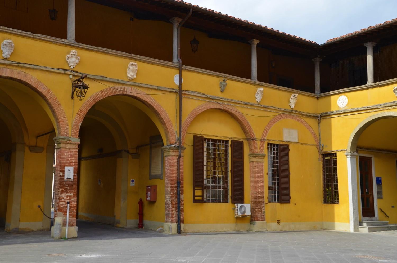 Cortile degli Spedalinghi (L. Corevi, Comune di Pisa)