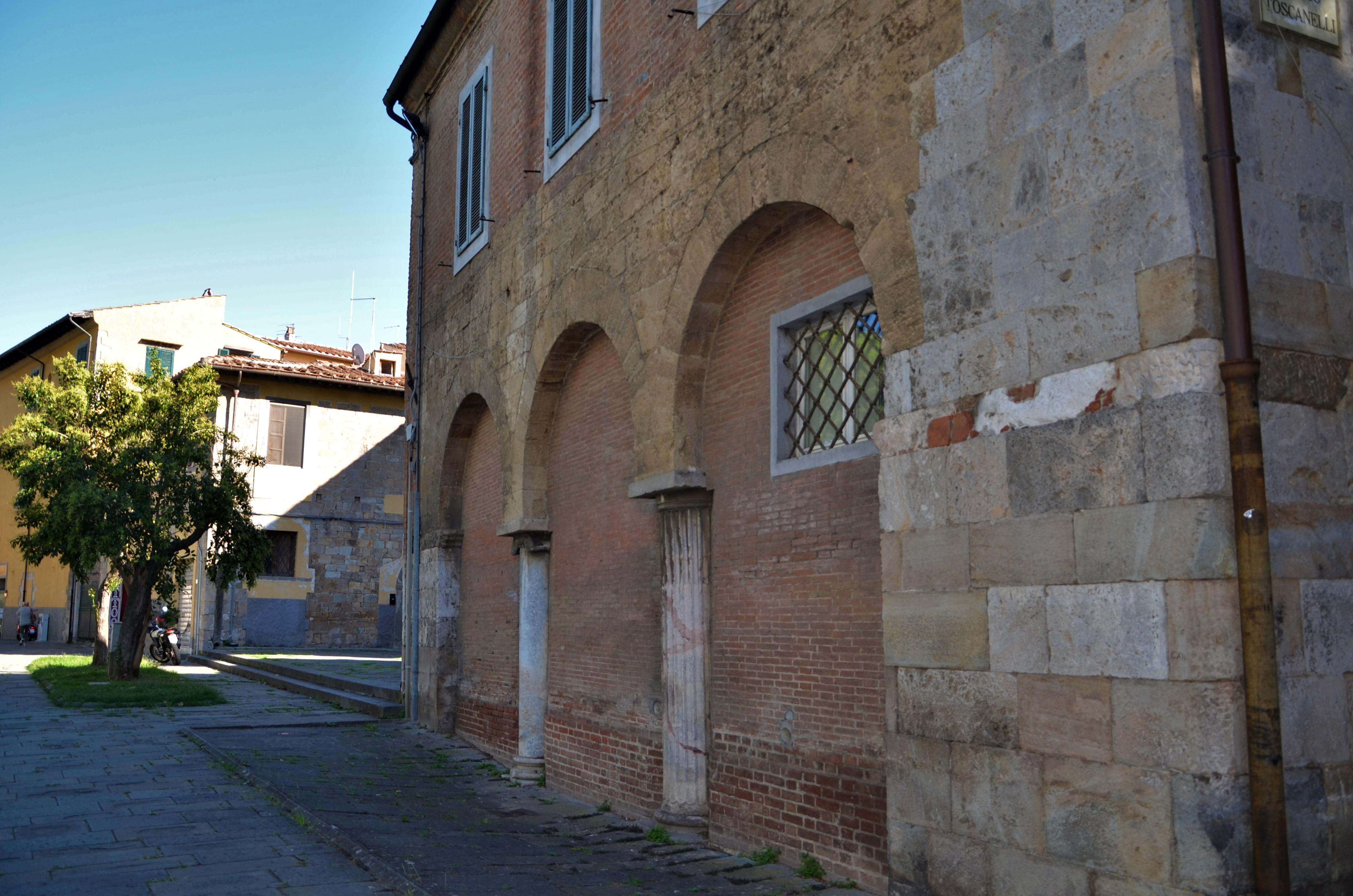 Ex chiesa di San Luca (L. Corevi, Comune di Pisa)