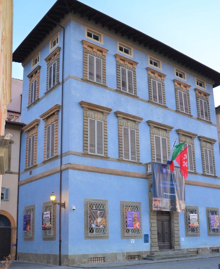 Palazzo Giuli-Rosselmini-Gualandi _ Palazzo Blu (L. Corevi, Comune di Pisa)