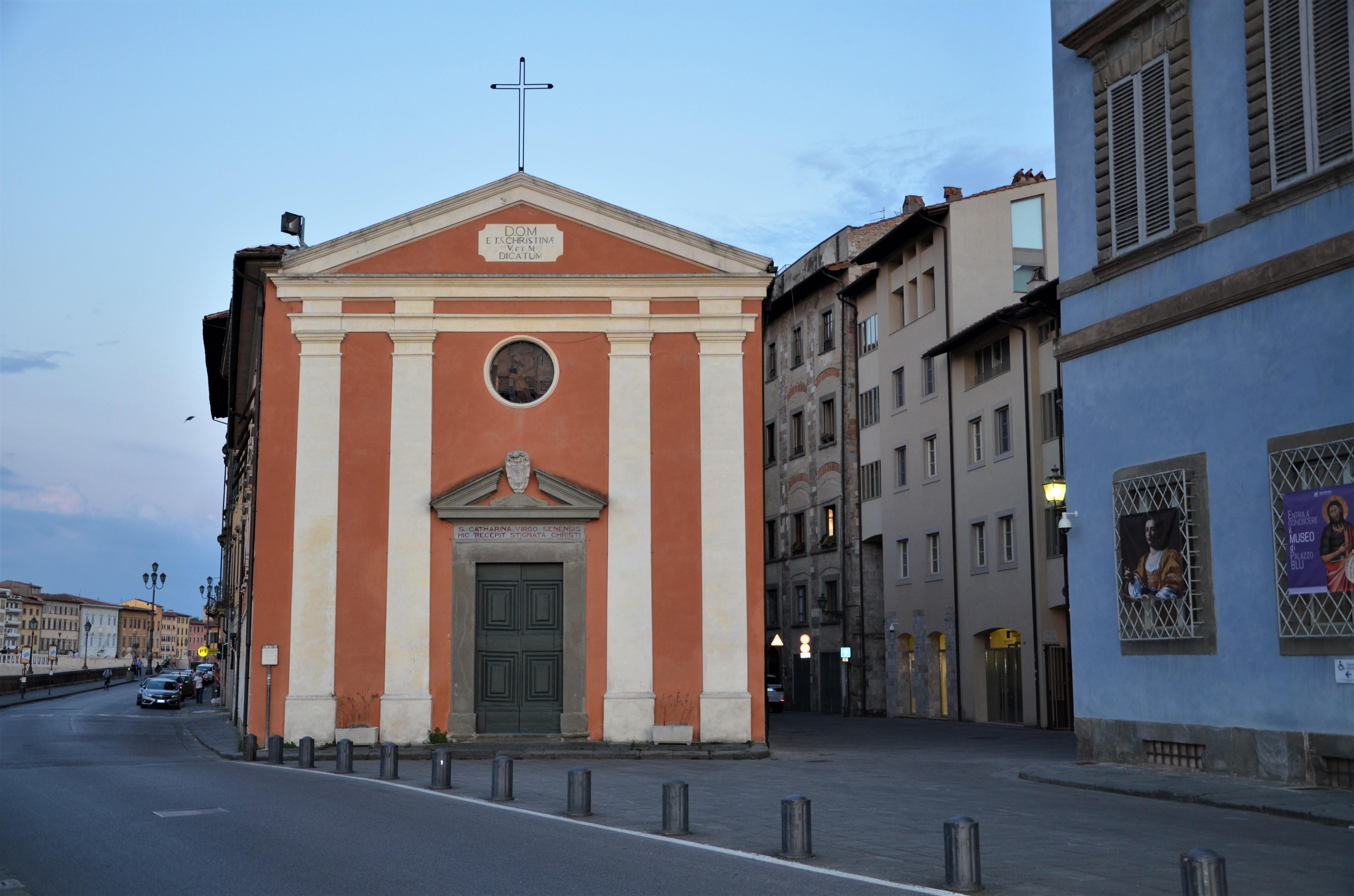 Facciata Chiesa Santa Cristina (L.Corevi, Comune di Pisa)