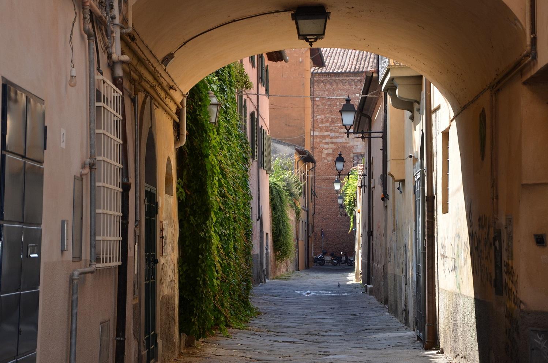 Arco in via della Foglia (M. Del Rosso, Comune di Pisa)