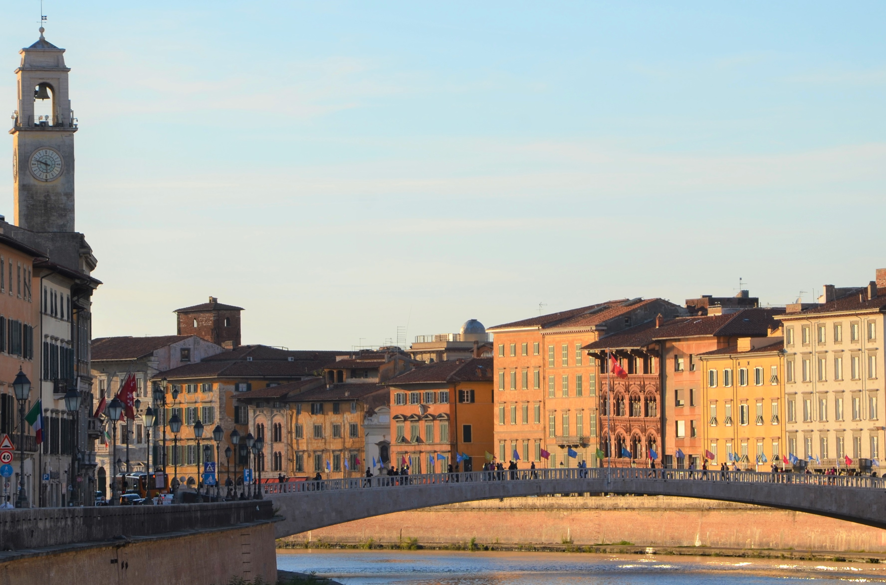 Ponte di Mezzo dal Lungarno (L. Corevi , Comune di Pisa)
