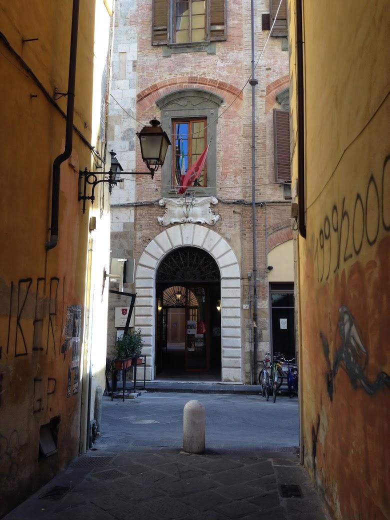 Palazzo Cevoli, via San Martino (L. Corevi, Comune di Pisa)