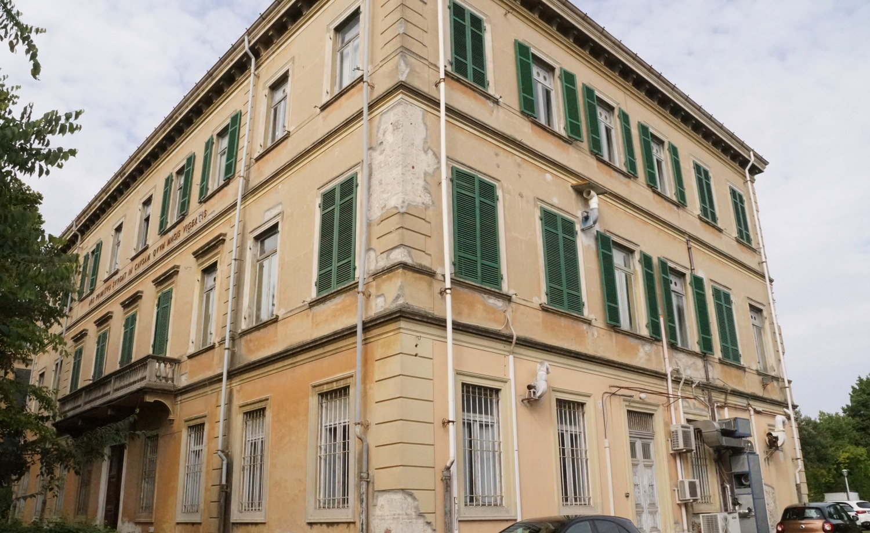 Istituto di Biomedicina, via San Zeno (M. Del Rosso, Comune di Pisa)