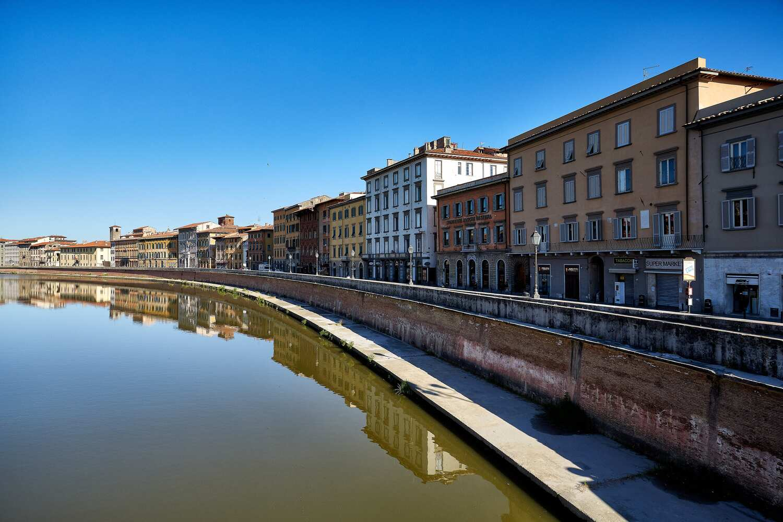 Lungarno Pacinotti (M. Cerrai, Comune di Pisa)
