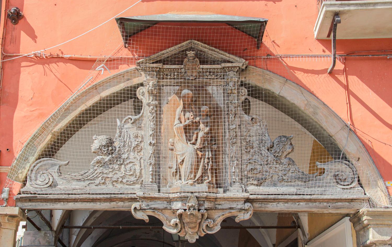 Tabernacolo ligneo, Madonna dei Vetturini (C. Bettini, Comune di Pisa)