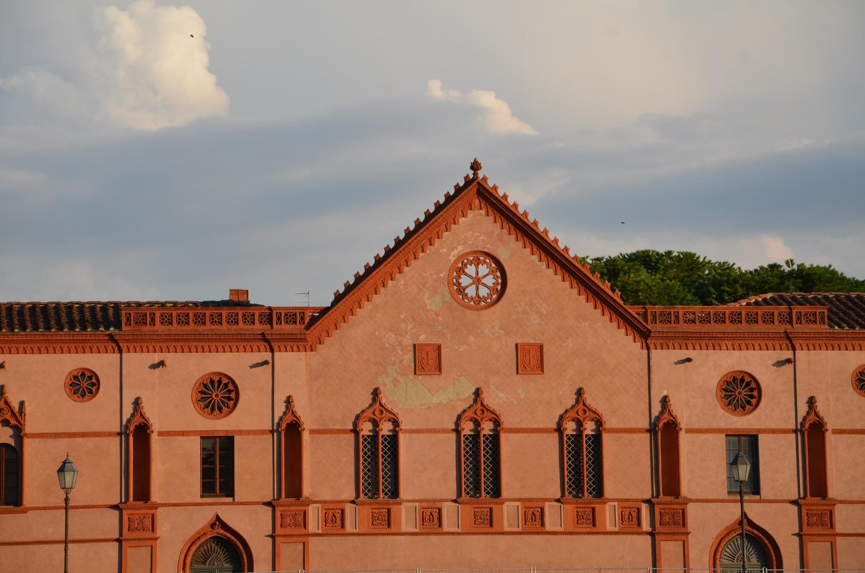 Facciata Monastero delle Benedettine, lungarno Sidney Sonnino (L. Corevi, Comune di Pisa)