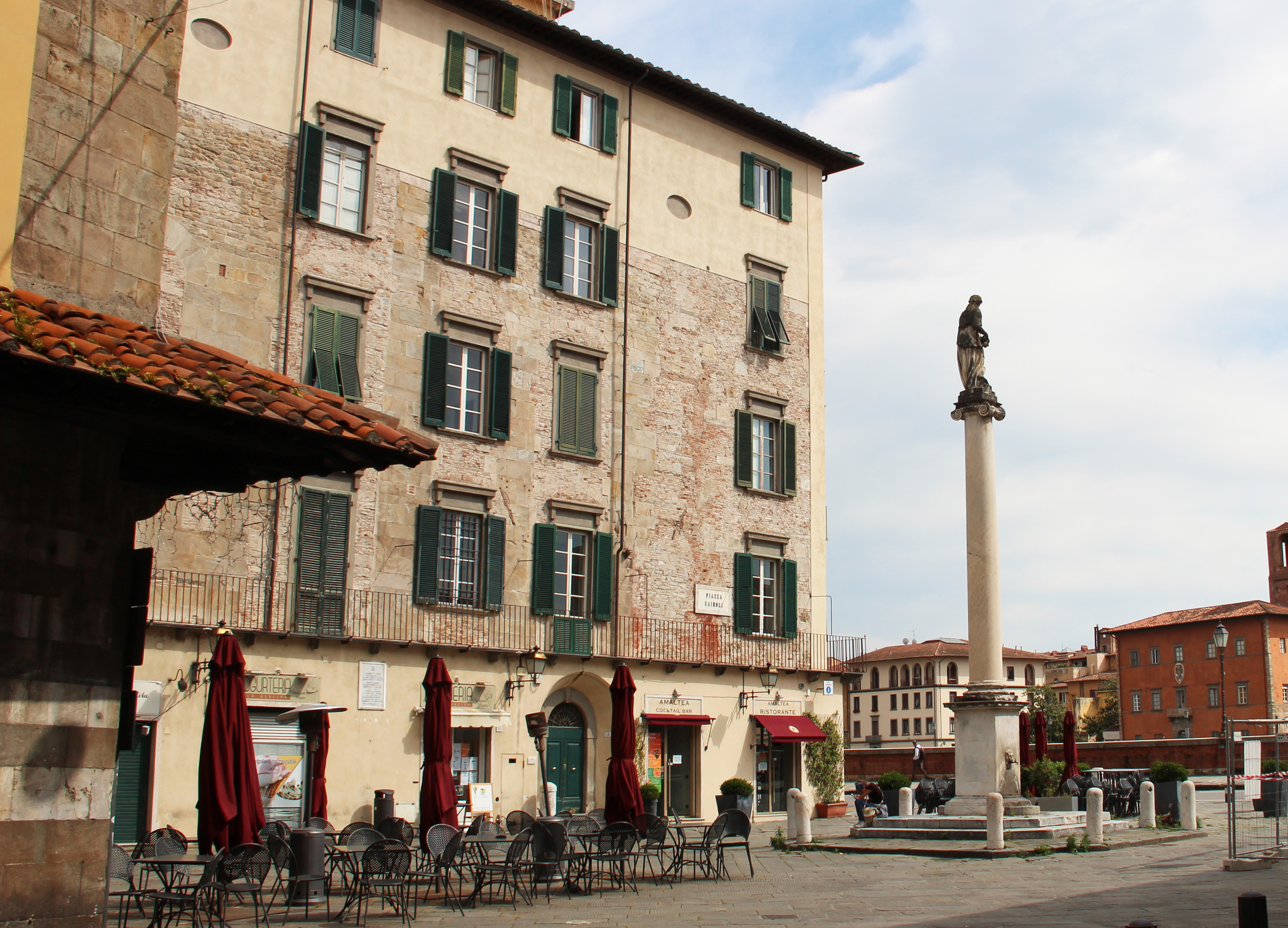 Scorcio - Piazza Cairoli, o della Berlina (G. Bettini, Comune di Pisa)