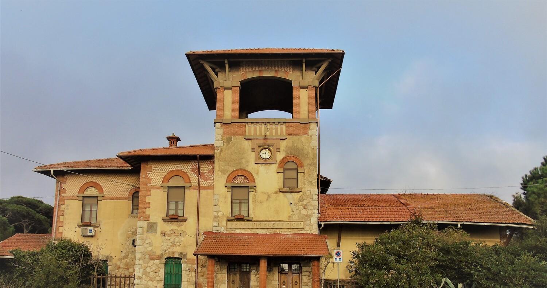 La stazione del trammino (D. Viacava, Comune di Pisa)