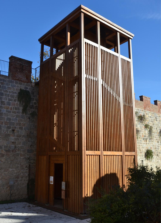 Torre di Legno (Le Mura)