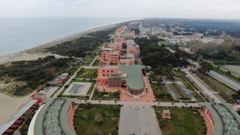 Panoramica lungomare Calambrone _ foto con drone (M. Boi, Comune di Pisa)