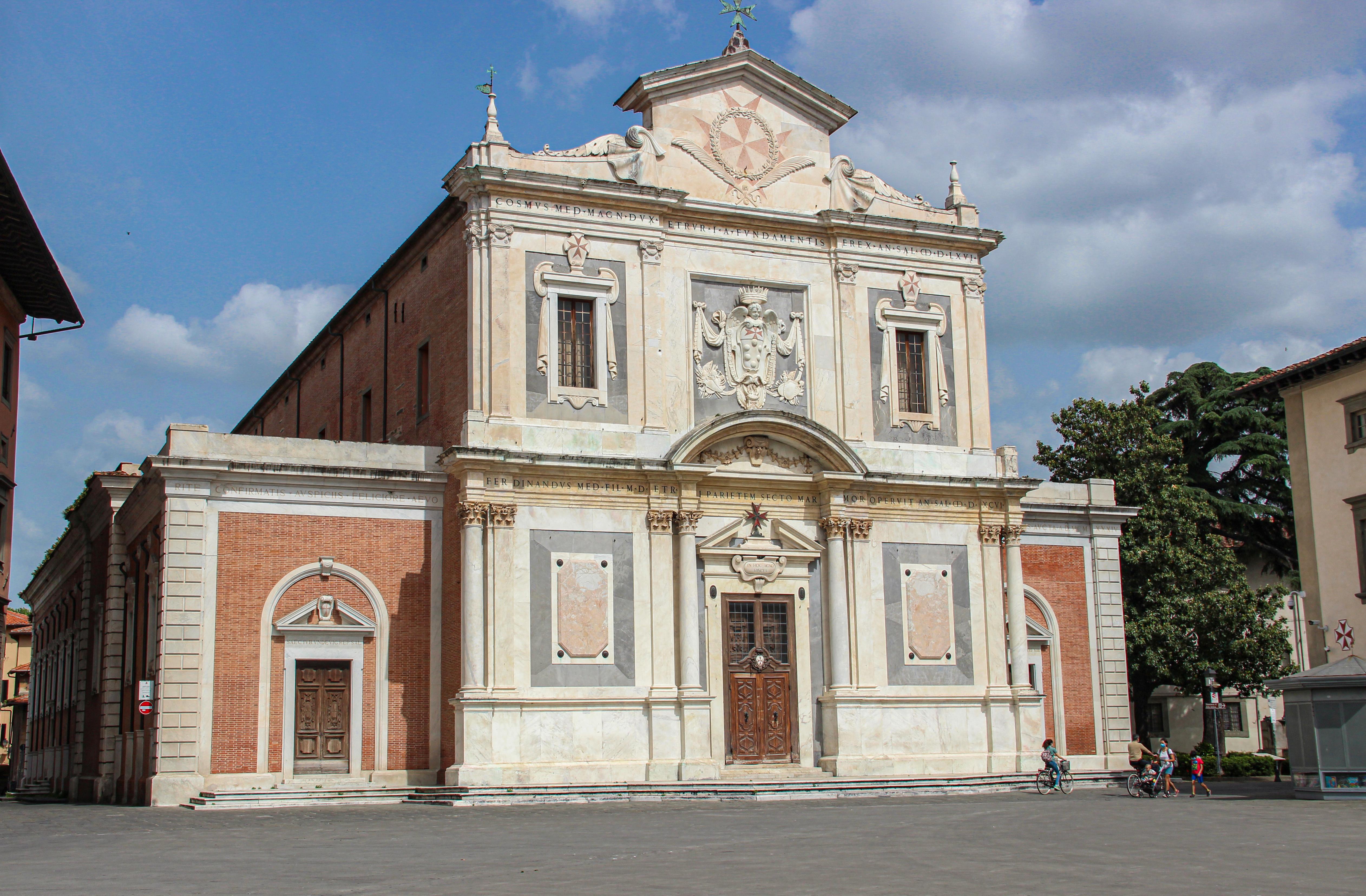 Facciata Chiesa Nazionale di Santo Stefano dei Cavalieri (G. Bettini, Comune di Pisa)