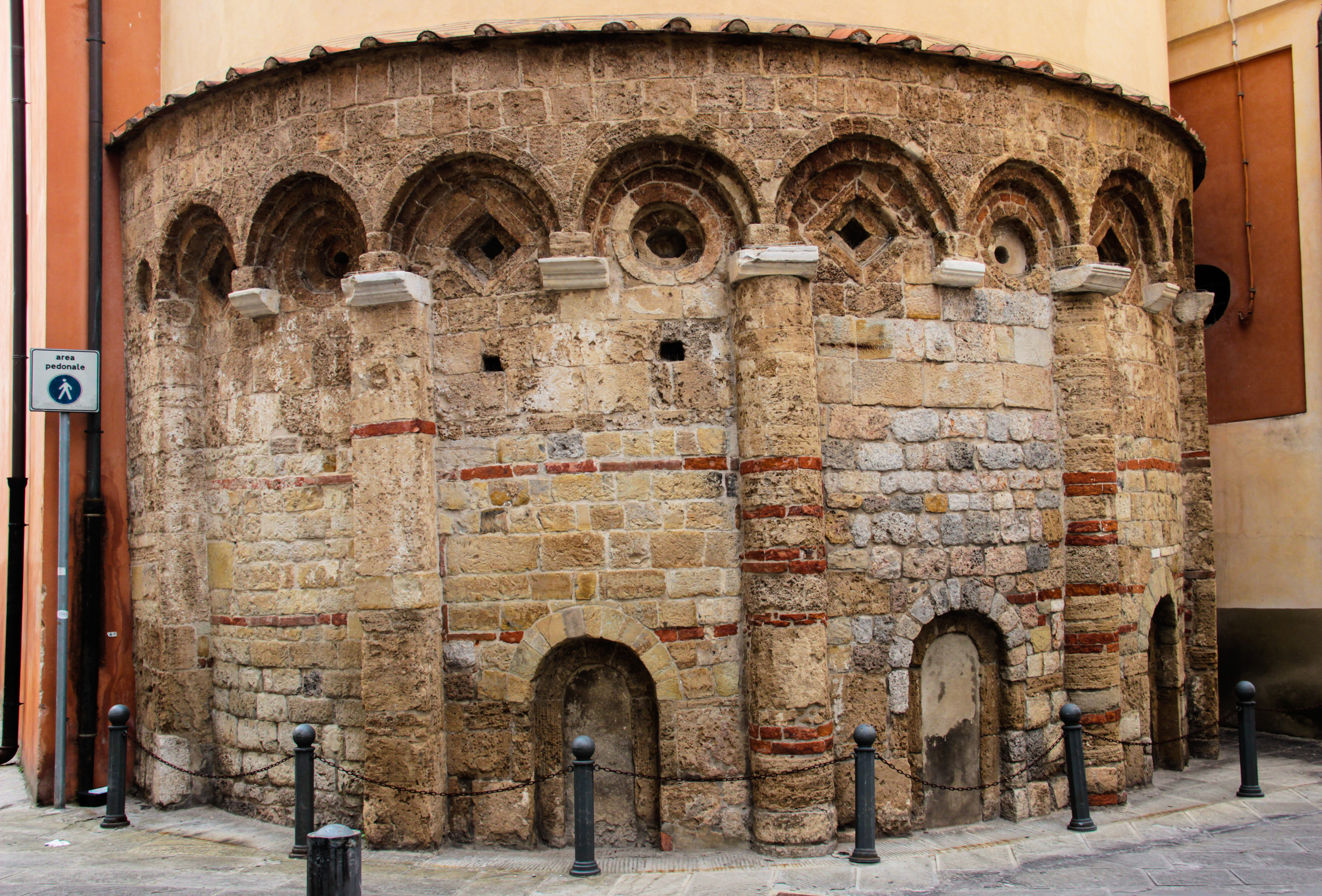 Abside - Chiesa di Santa Cristina (G. Bettini, Comune di Pisa)