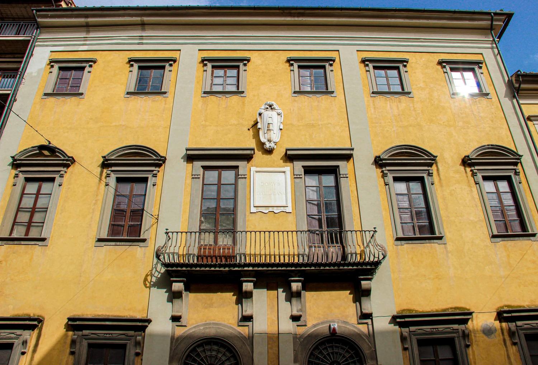 Ingresso dell'edificio su Via Santa Maria - Domus Galilaeana (G. Bettini, Comune di Pisa)