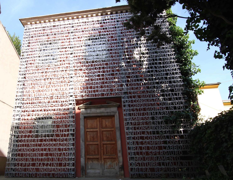 Facciata su Via D'Azeglio - Domus Mazziniana (A. Matteucci)