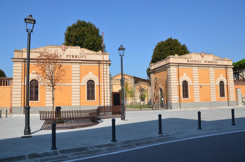 Museo degli Strumenti per il Calcolo, vecchi macelli (L. Corevi, Comune di Pisa)