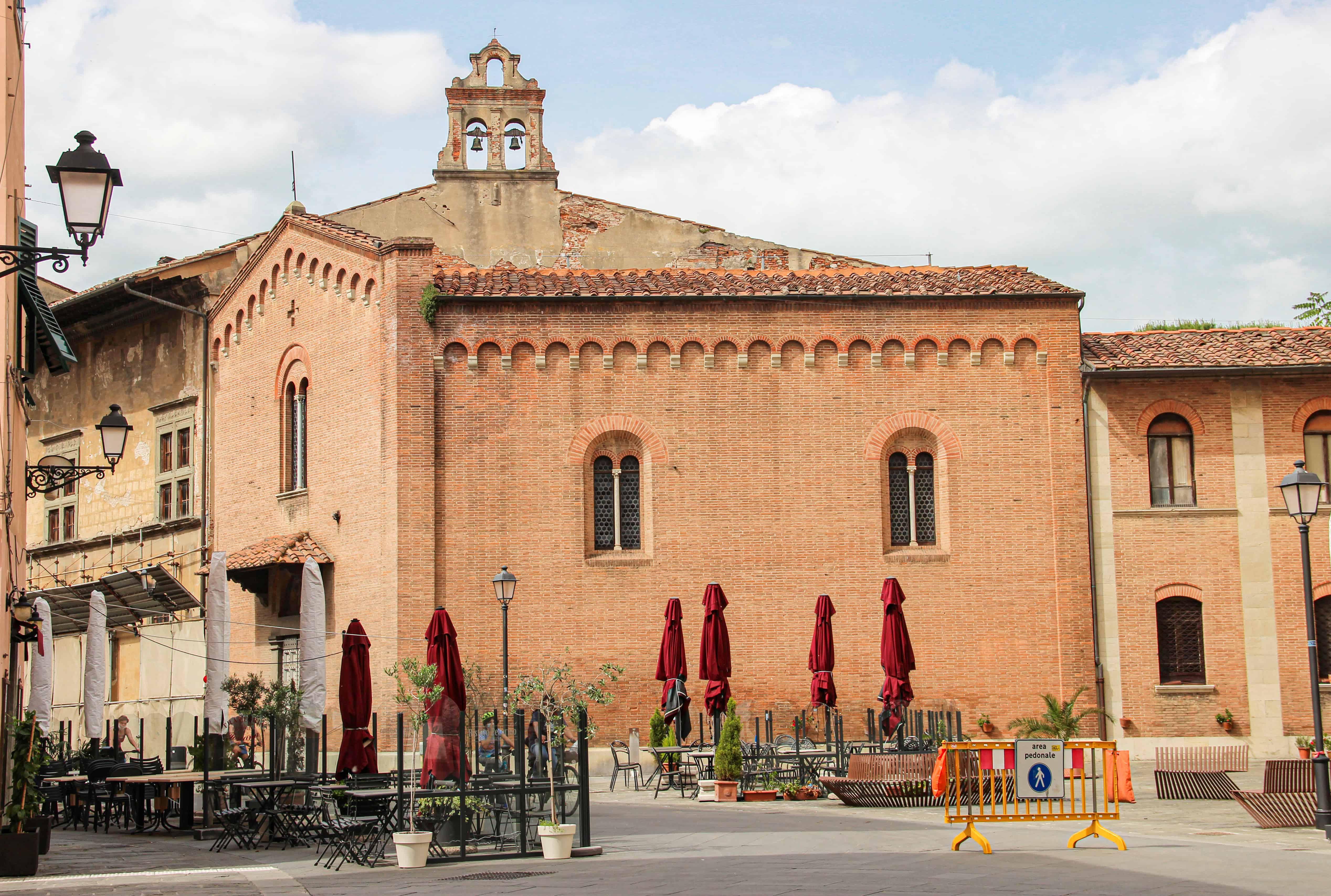 Chiesa di San Giorgio dei Tedeschi (G. Bettini, Comune di Pisa)