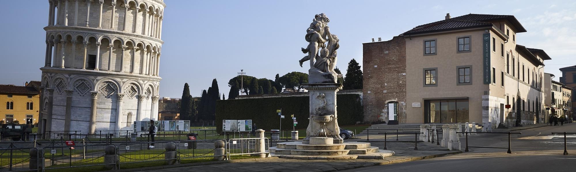 Fontana dei Putti, Piazza del Duomo (Opera Primaziale Pisana)