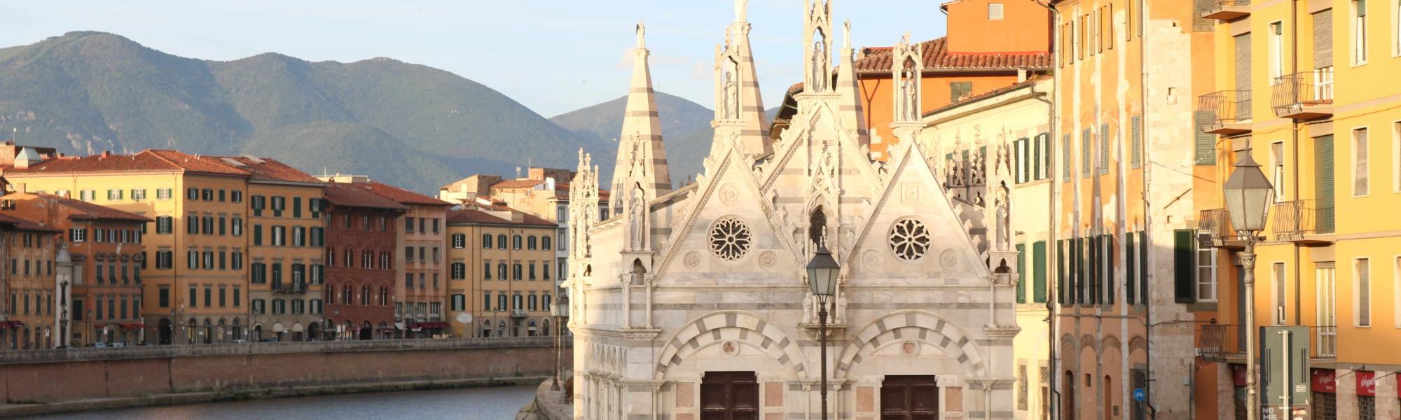 Veduta Chiesa Santa Maria della Spina (A. Matteucci)