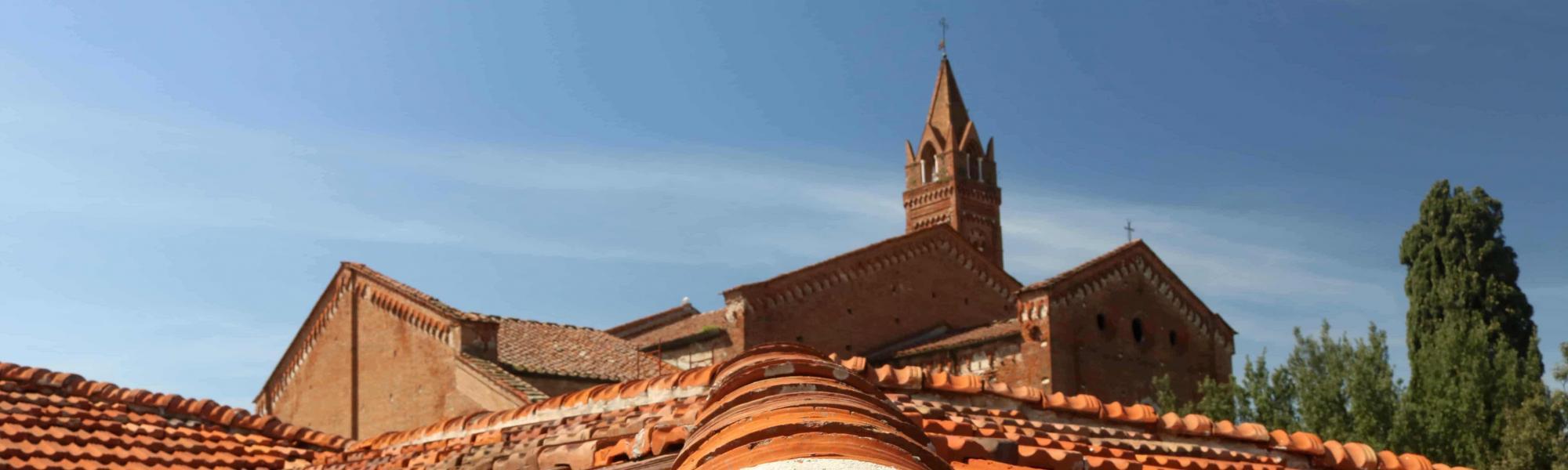 Veduta dai tetti Chiesa e Chiostro di San Francesco