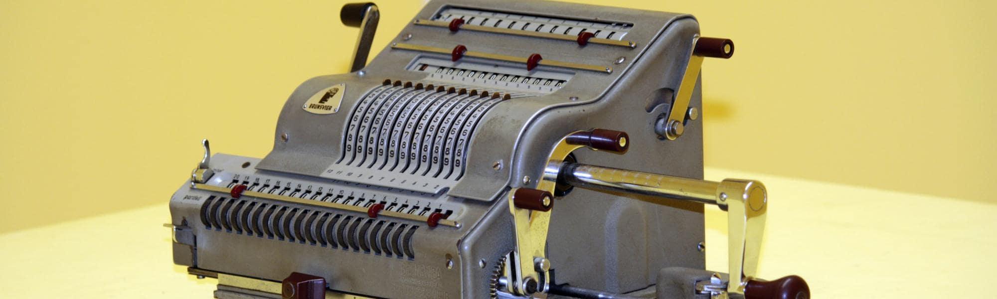 Particolare museo degli Strumenti per il Calcolo (Museo degli strumenti per il Calcolo)