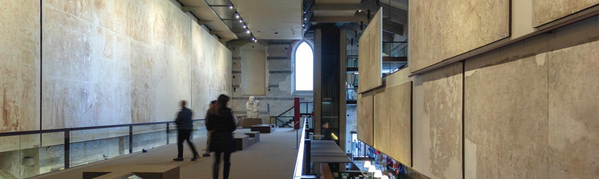 Interno - Museo delle Sinopie