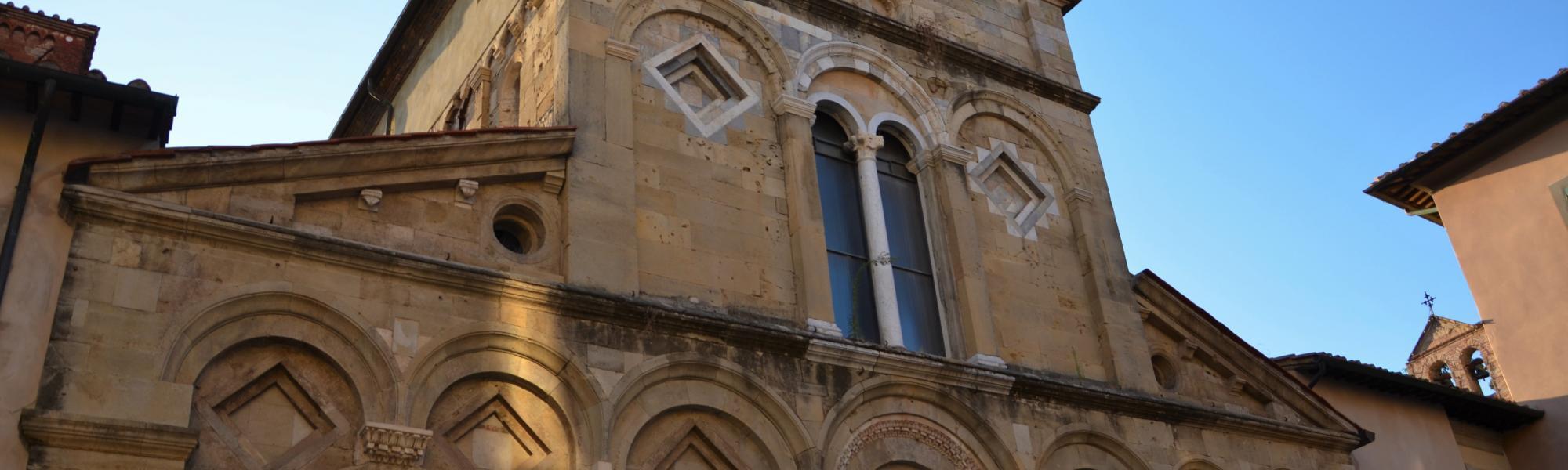 Facciata - Chiesa di San Frediano (Lara Corevi)