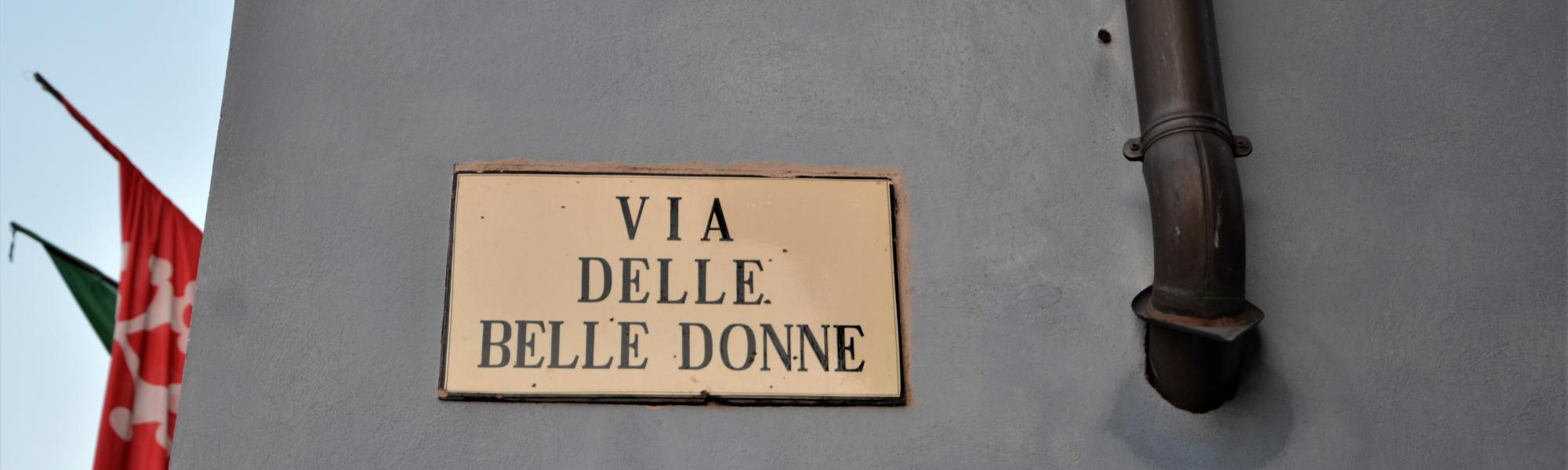 Via delle Belle Donne (M, Del Rosso, Comune di Pisa)