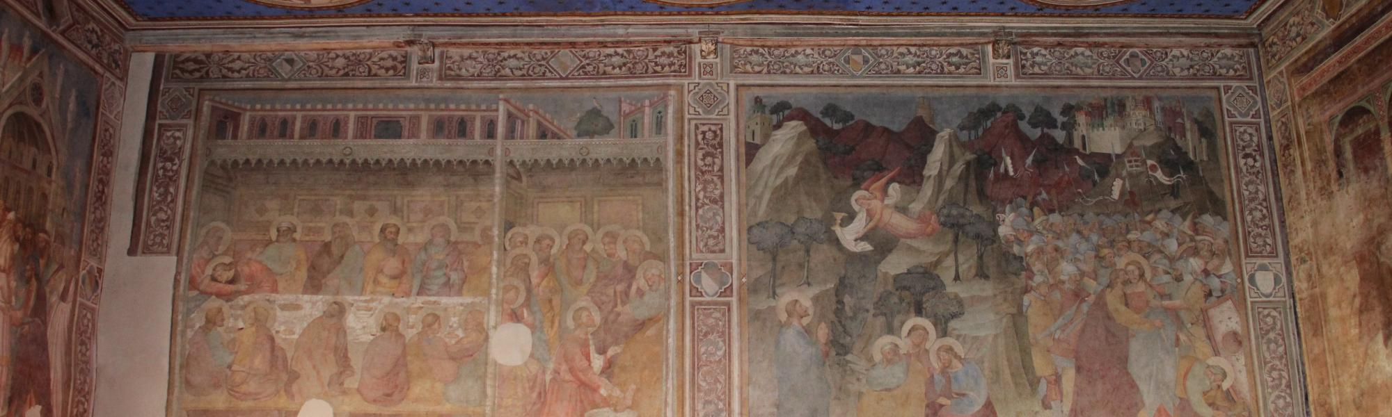 Decorazione interna Chiesa di San Francesco (G. Bettini, Comune di Pisa)