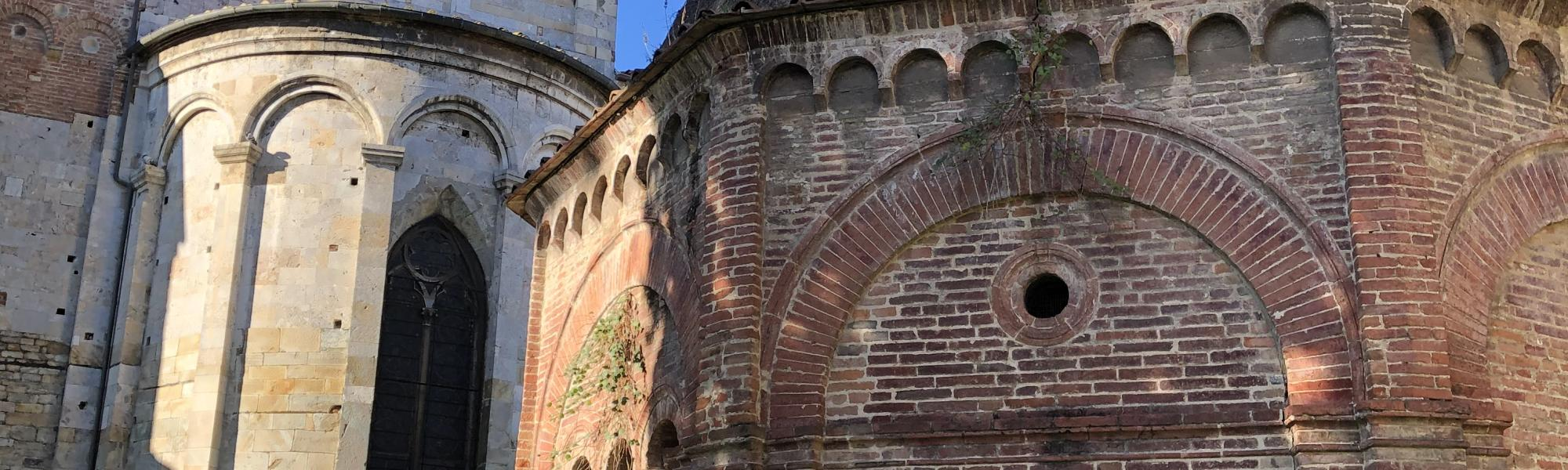 Retro Chiesa San Paolo all'Orto e Cappella di Sant'Agata (G. Bettini, Comune di Pisa)