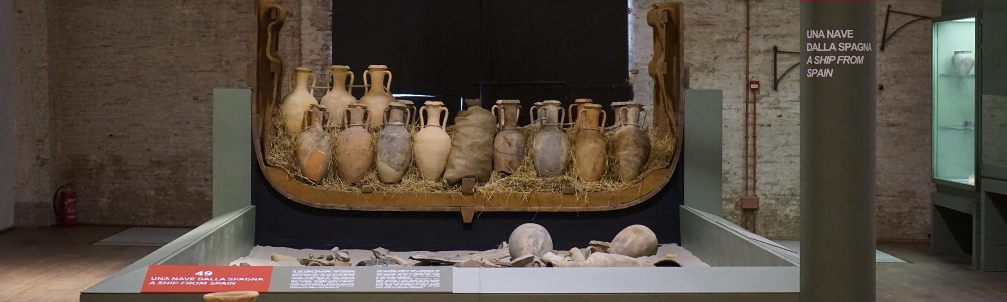 Ritrovamenti Museo delle Navi (Museo delle Navi)