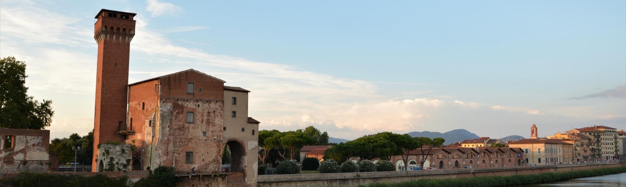 Veduta Cittadella e Arsenali medicei (L. Corevi, Comune di Pisa)