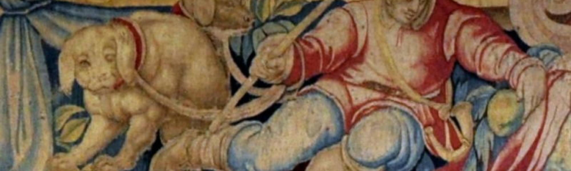 Particolare Arazzo, Museo nazionale di Palazzo Reale (Museo Nazionale di Palazzo Reale)