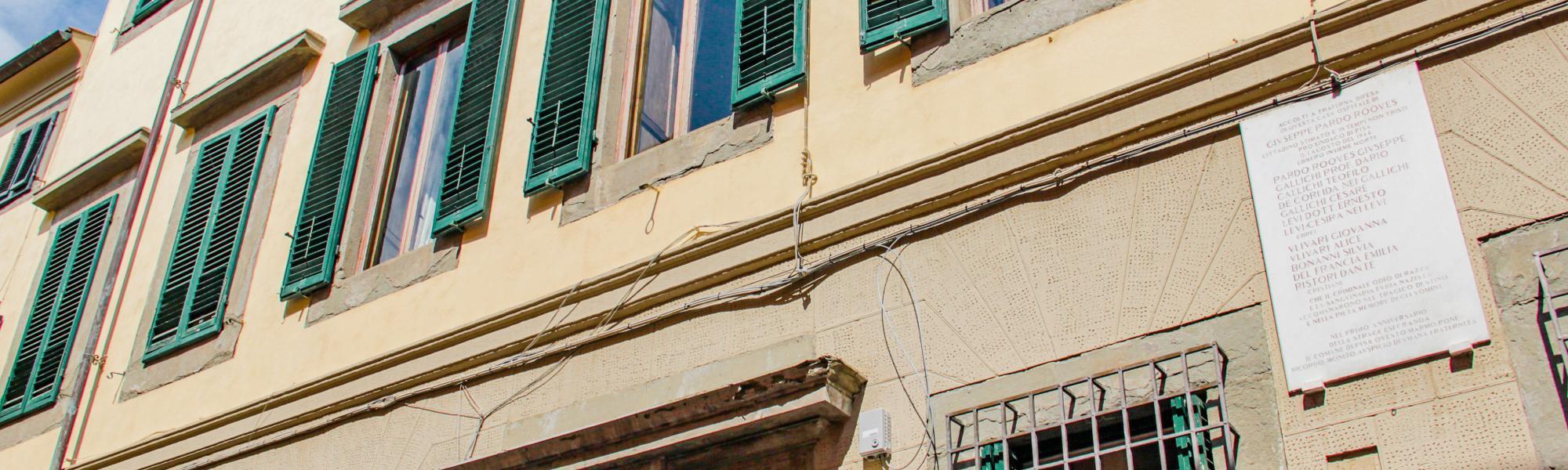 Casa Pardo Roques (G. Bettini. Comune di Pisa)