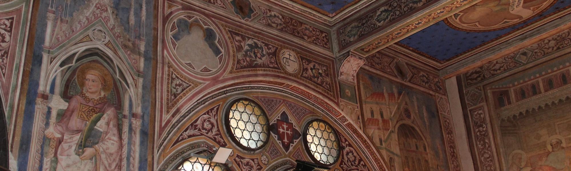 Decorazione interna navata Chiesa di San Francesco (G. Bettini, Comune di Pisa)