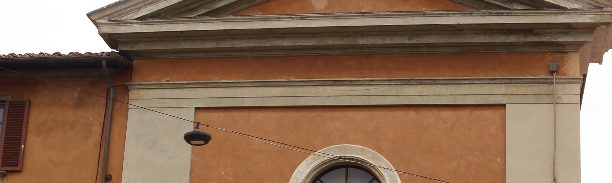 Particolari facciata - Chiesa di San Ranierino (A. Matteucci)