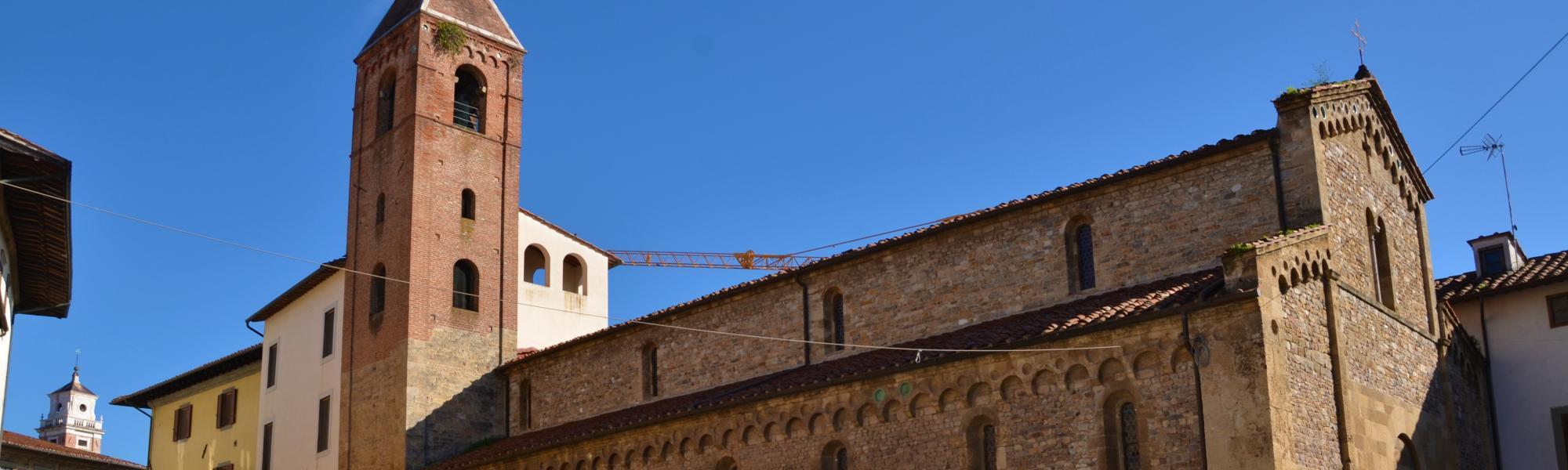 Chiesa di San Sisto (L. Corevi, Comune di Pisa)