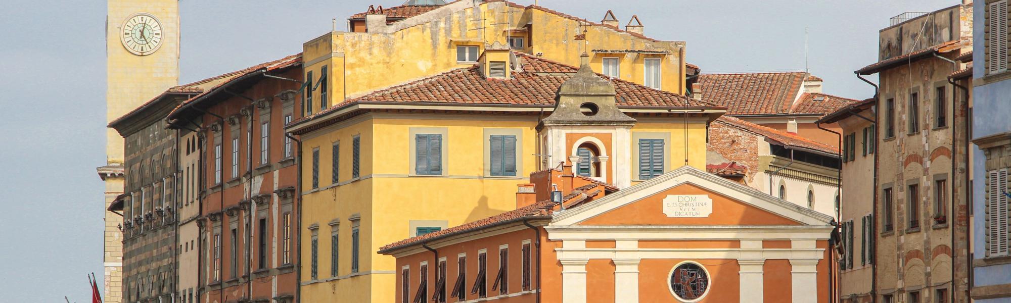 Veduta Chiesa di Santa Cristina dai lungarni (G. Bettini, Comune di Pisa)