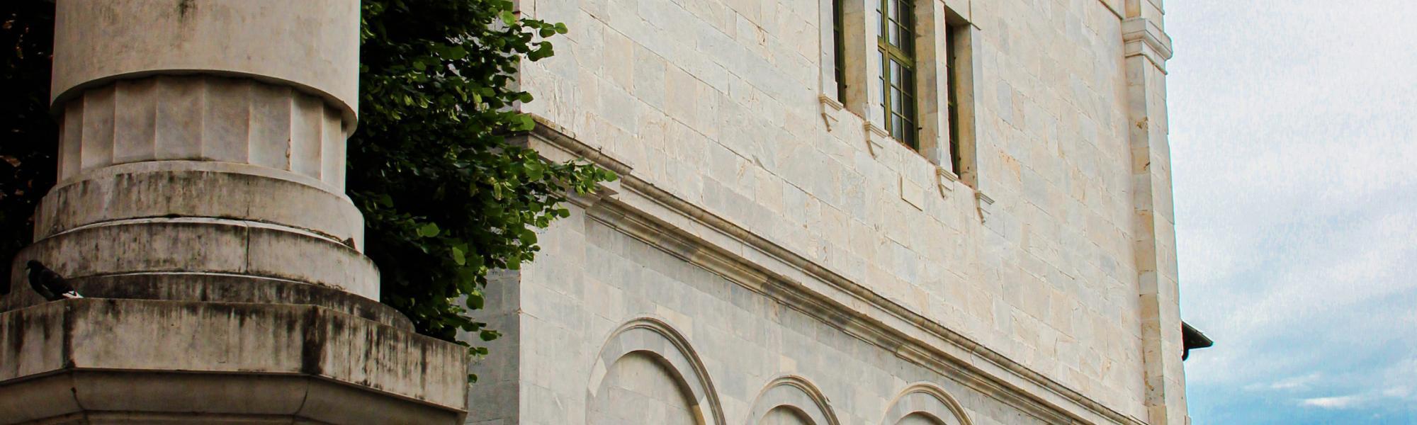Scorcio facciata - Chiesa di San Martino (G. Bettini, Comune di Pisa)