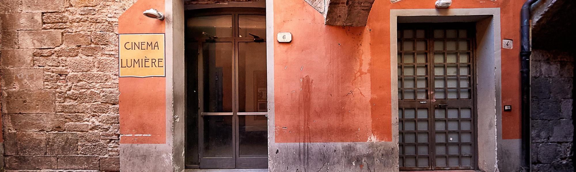 Cinema Lumiere, facciata (M. Cerrai, Comune di Pisa)