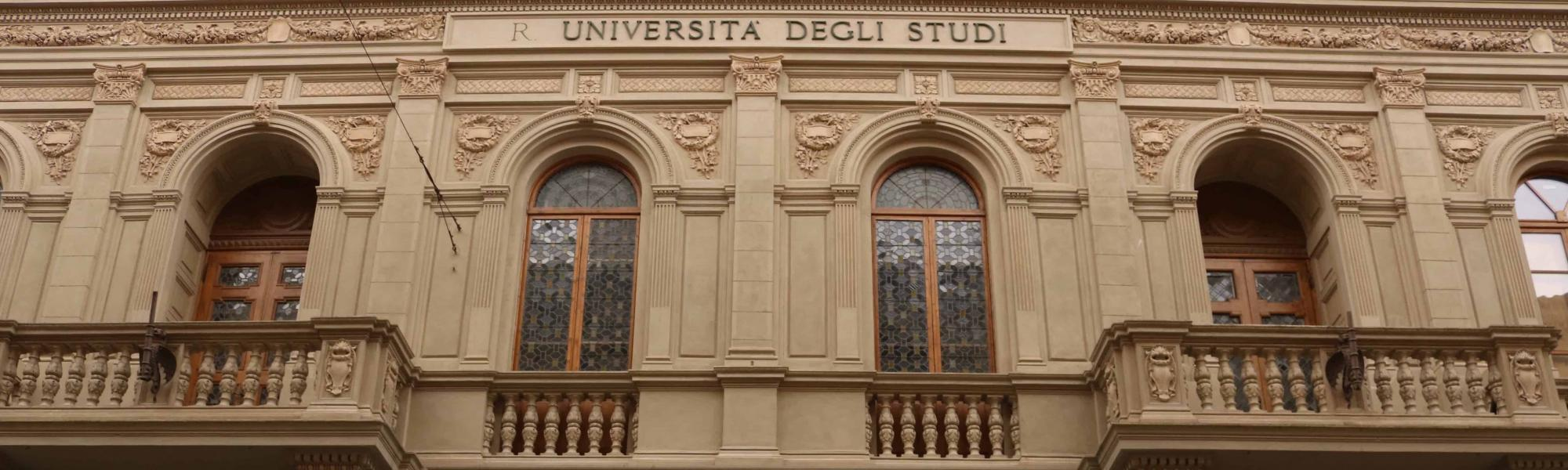 Particolari facciata esterna - La Sapienza (A. Matteucci)