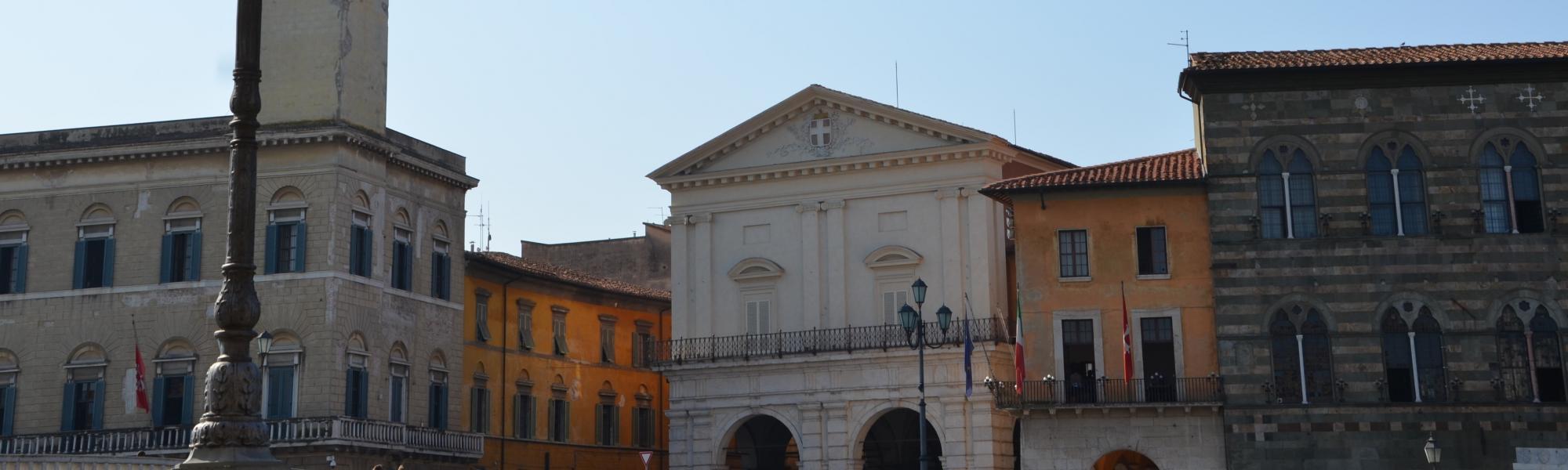 Logge di Banchi da Ponte di Mezzo (L. Corevi, Comune di Pisa)