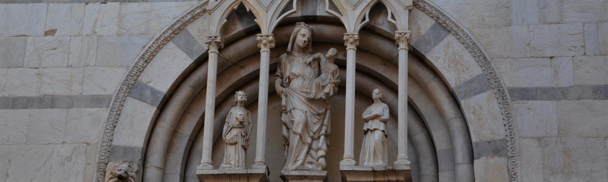 Particolare chiesa di San Michele in Borgo (L. Corevi, Comune di Pisa)